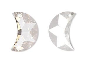 Glas Prismor - Måne  5cm