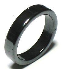 Hematit Ringar - Slät