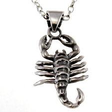 Stjärntecken Hänge i Silver -  Skorpion