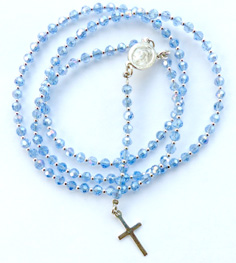 Kristna Radband - Fasetterade Glas