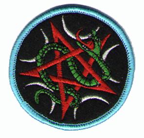 Tygmärken - Pentagram - Orm