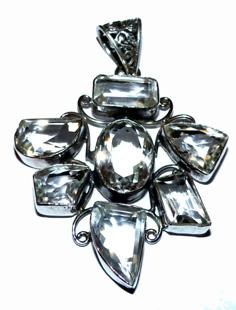 Hängsmycke Bergkristall