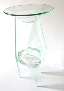 Aromlampa - Art Unique - Glas