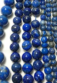 Lapis Lazuli Pärlor Sträng - Runda 4-8mm