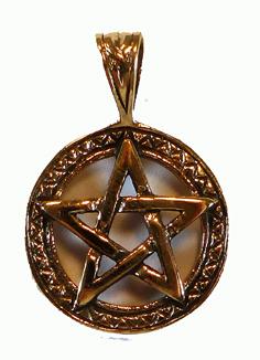 Pentagram i Brons