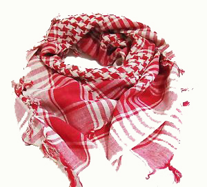 Palestinasjalar  - Röd