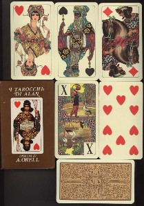 Alan Tarot Deck, Modiano