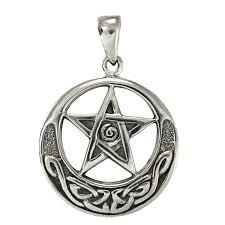 Keltisk Pentagram - Star/knot