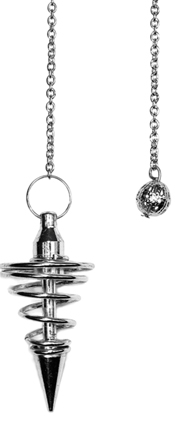 Spiral Pendel - Silver