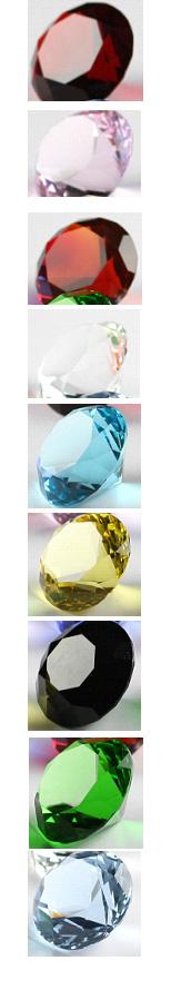 Glas Diamant  - 4cm