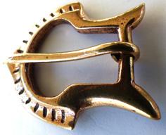 Vikingatida Bältesspänne i Brons