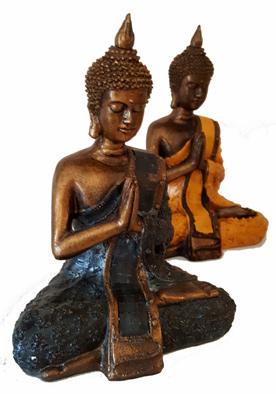 Mediterande Thai Buddha - 20cm