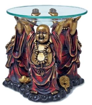 Buddha Aromalampa Röd