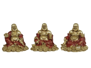 Buddhafigurer  Golden