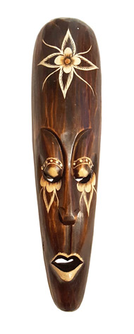 Indonesisk Mask - Lotus Eyes