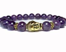 Buddha Armband - Ametist