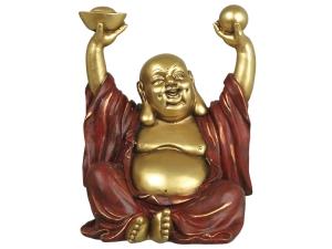 Glad Sittande Buddha