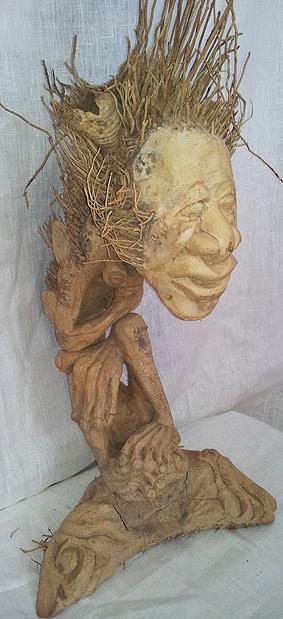 Bambu rot Staty