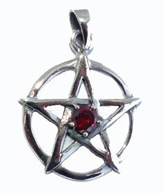 Pentagram med Granat
