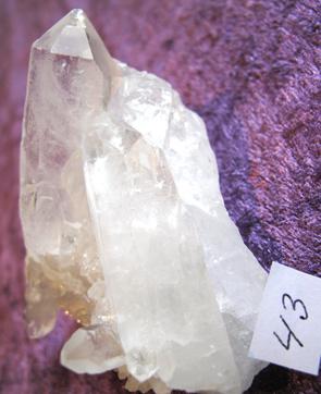 Bergkristall Kluster #43