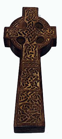 Keltisk Trä Kors