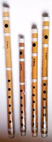 Indisk Bambuflöjt (Bansuri)
