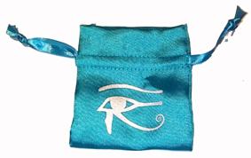 Satinpåse med Horusögat
