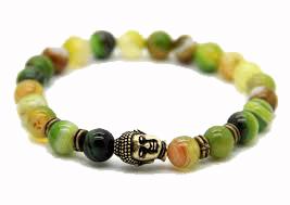 Buddha Armband - Grönbandagat
