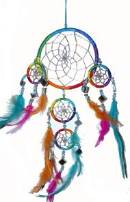 Regnbågsdrömfångare -Speglar