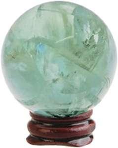 Grön Fluorit Kula