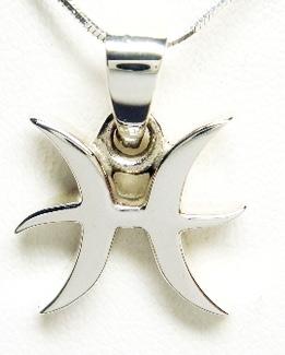 Stjärntecken Hänge i Silver - Fiskarna