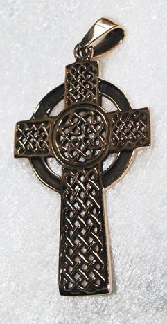 Keltisk Kors i Brons