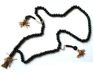 Tibetanska Radband - Svarta pärlor