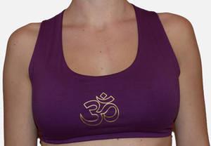 Yoga Bra - Aum -  Storlek: S och M