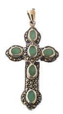 Kristna Kors med Smaragd