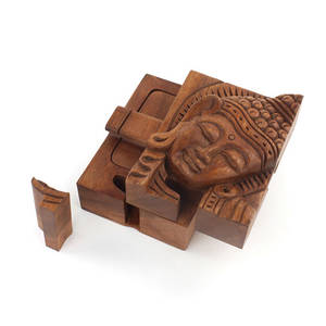 Pussellåda - Buddha med Krona