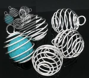 Spiral till Sten eller Kristall  - Mellan Silver