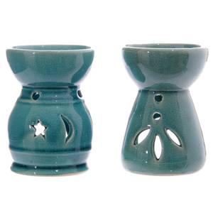 Oljebrännare I Keramik Måne & Löv