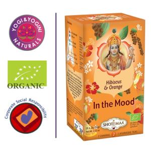 In the Mood - Hibiscus, Orange & Pepper Tea - EKO