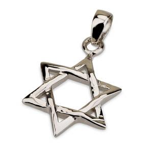 Davids Stjärna i  Silver