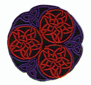 Tygmärken  - Keltisk Mandala