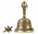 Tibetanska Klocka med Dorje - 13.5cm