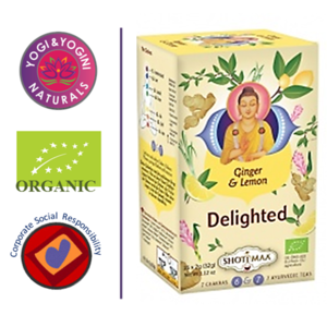 Delighted - Ginger & Lemon Tea - EKO