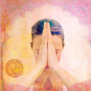 Dubbla vykort - Namaste'