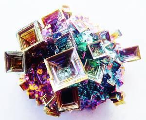Wismut / Bismuth Kristall -ca. 25 grams
