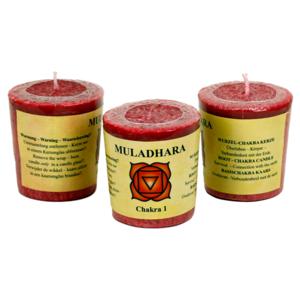 Chakra doftljus - Muladhara - Chakra 1 (röd)