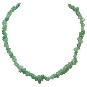 Grön Aventurin Chip Halsband