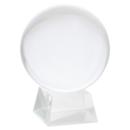 Kristallkula  - Spåkula 15cm med ställning i glas