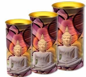 Buddha Meditation Ljus