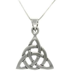Keltisk Triangel Hänge i silver